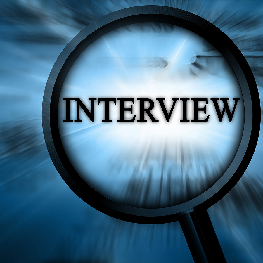 interview magnifying glass